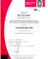 Quality Standard ISO 9001:2008 Certification