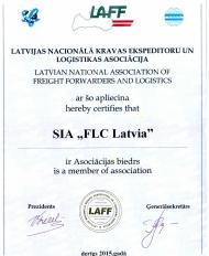 LAFF Sertificate